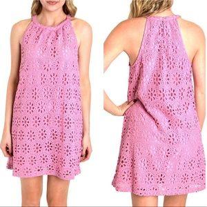 Jack by B B Dakota Browning Crochet Dress. SZ S
